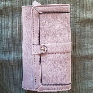 Taupe Target wallet
